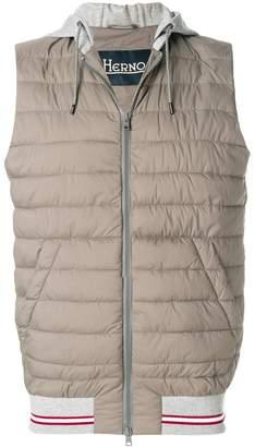 Herno sleeveless padded vest