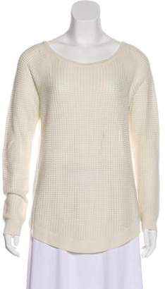 Rag & Bone Open Knit Scoop Neck Sweater