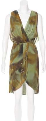 Haute Hippie Sleeveless Silk Dress