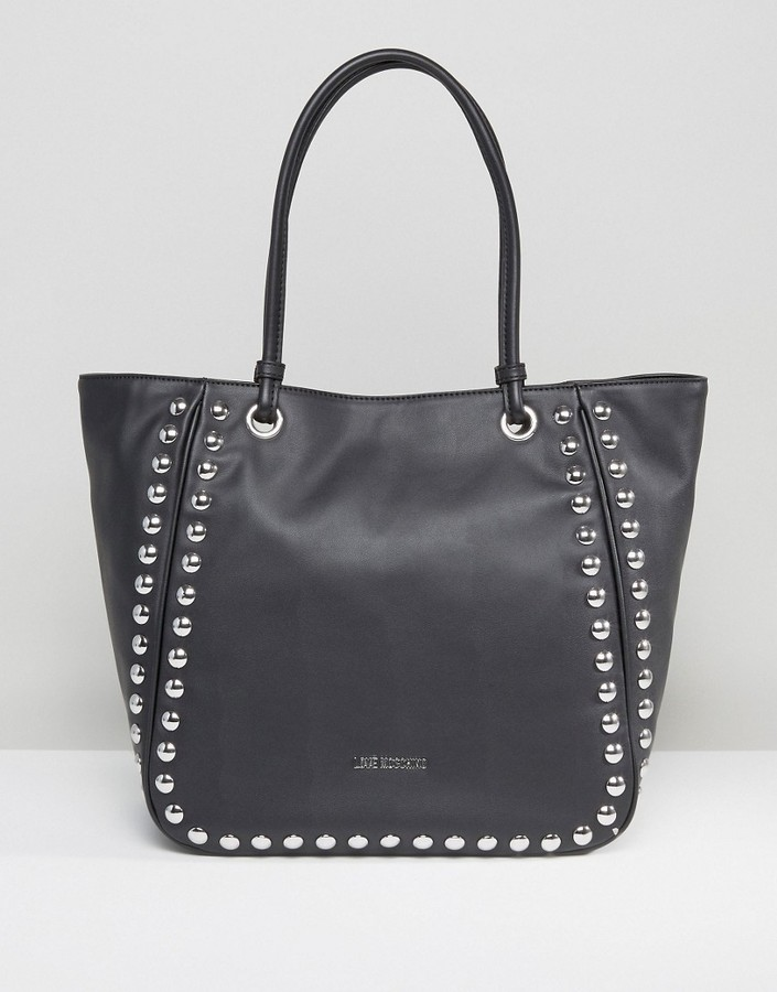 Love Moschino Love Moschino Stud Tote Bag