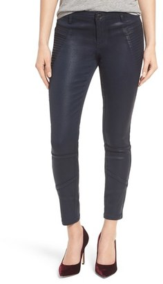 Women's Blanknyc Coated Skinny Pants $118 thestylecure.com
