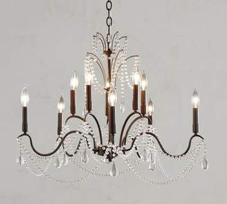 Pottery Barn Marlie Crystal Chandelier