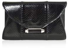 Judith Leiber Couture Mini Baker Metallic Envelope Clutch