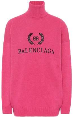 Balenciaga BB turtleneck sweater