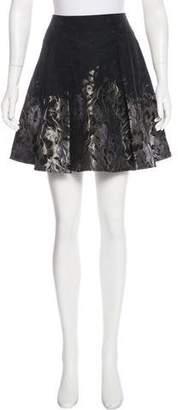 Armani Collezioni Jacquard Mini Skirt