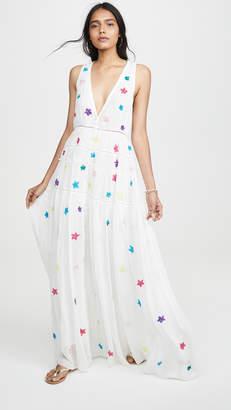 Rococo Sand Sleeveless Star Dress