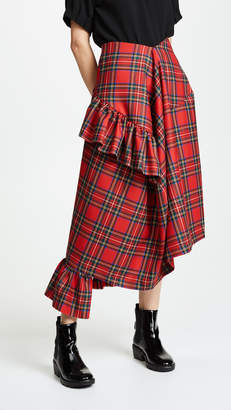 Preen by Thornton Bregazzi Morgan Plaid Skirt