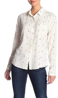 Kensie Jeans Kiss Print Shirt
