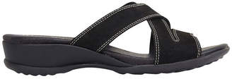 Caddy Black Nubuck Sandal
