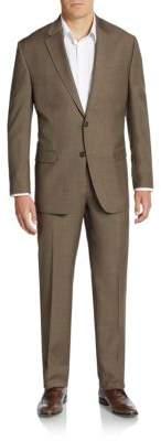 Lauren Ralph Lauren Two-Button Wool Suit