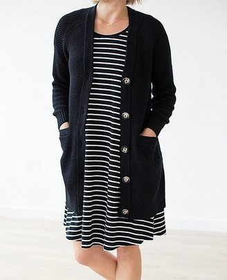 Women Modern Cardigan In Cotton Cashmere $158 thestylecure.com