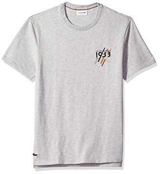 Lacoste Men's Short Sleeve REG FIT 1933 Striped TEE