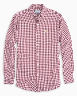 Southern Tide Gameday Gingham Intercoastal Performance Shirt - Florida State University