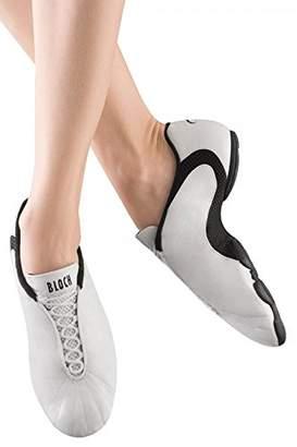 Bloch Dance Women's Amalgam Leather Dance Sneaker,7 X(Medium) US