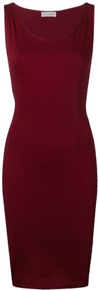Dolce & Gabbana Pre-Owned sleeveless fitted dress