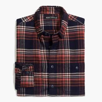 J.Crew Tall slim flannel shirt in plaid