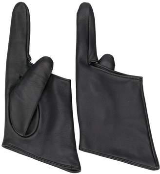 Yohji Yamamoto two finger gloves