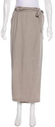 Yigal Azrouel Textured Wrap Skirt
