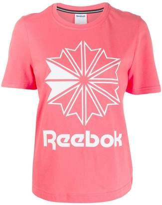 Reebok brand logo T-shirt