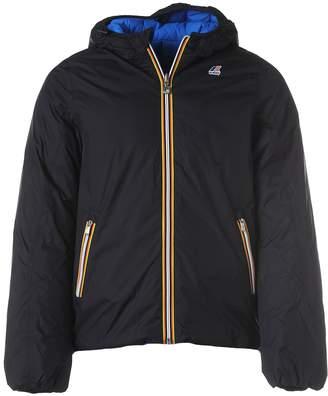 K-Way K Way Blue Reversible Jacket