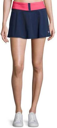 Fila MB Court Central Performance Skort, White Pattern $120 thestylecure.com