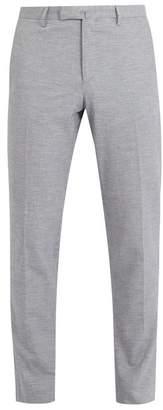 Boglioli Tailored cotton-linen chino trousers