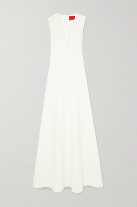 SOLACE London Seine Stretch-cady Gown - Off-white