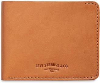 Levi's Men's Leather Slimfold Wallet