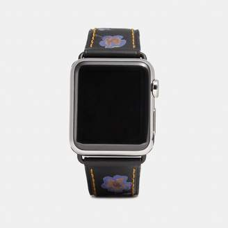 Coach Apple Watch Strap With Prints