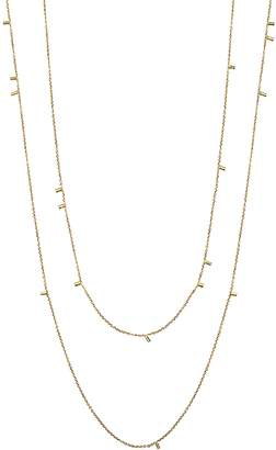 Sweet Pea Gold Duster Long Necklace - Yellow Gold