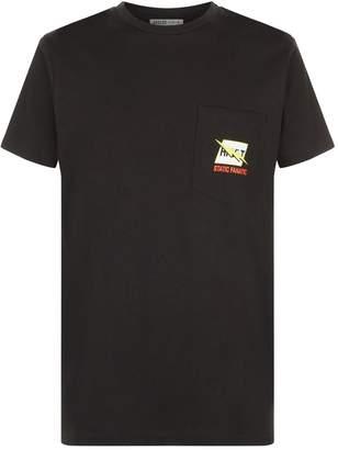 A Gold E Agolde Lightning Pocket T-Shirt