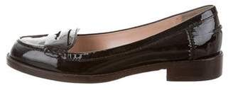 Marc by Marc Jacobs Patent Leather Round-Toe Loafers