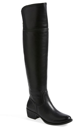 Vince Camuto 'Baldwin' Over the Knee Leather Boot (Wide Calf) (Nordstrom Exclusive) (Women)