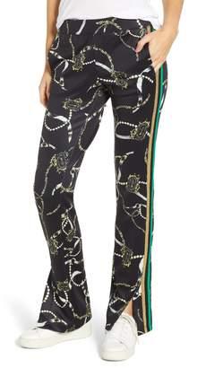 Pam & Gela Side Stripe Scuba Pants