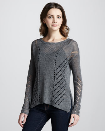 Elizabeth and James Downtown Loose-Knit Pullover