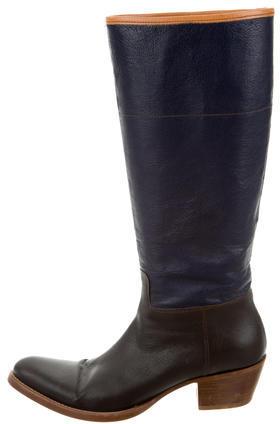 pradaPrada Leather Riding Boots