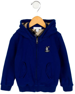 Burberry Boys' Hooded Sweater $120 thestylecure.com