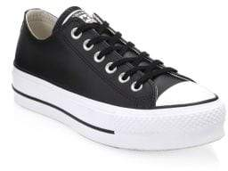 Converse Lift Leather Platform Sneakers