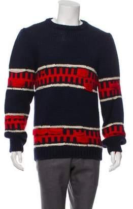 Calvin Klein Crew Neck Mohair Sweater