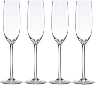 Lenox Set of 4 Tuscany Classics Fluted Champagne Glasses