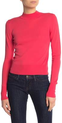 Free Press Fitted Mock Neck Pullover