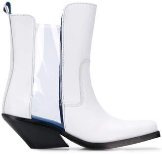 Diesel cowboy ankle boots