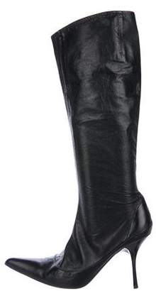 Vicini Leather Knee Boots