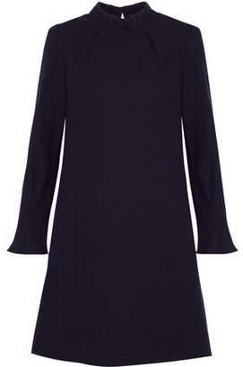 Goat Melody Wool-Crepe Mini Dress