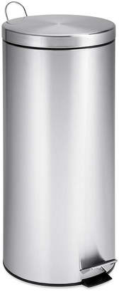 Honey-Can-Do 30L Round Stainless Steel Trash Can