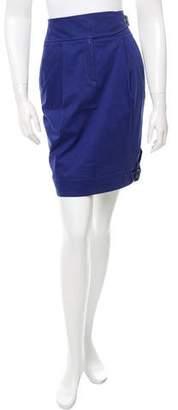 Blumarine Casual Pleated Skirt