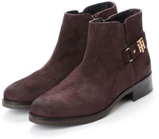 Tommy Hilfiger スウェード ショート ブーツ