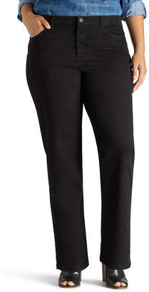 Lee Relaxed Slimming Straight Leg Jean - Plus