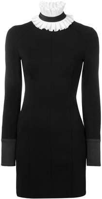 Karl Lagerfeld Paris detachable collar Punto dress
