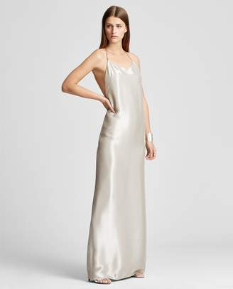 Ralph Lauren Bacall Lame Gown